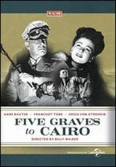 Five Graves to Cairo showtimes and tickets