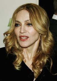 Madonna at the UK premiere of