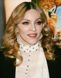 Madonna at the special screening of