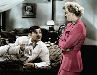 Clark Gable and Lana Turner in