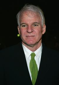 Steve Martin at the New York opening night of