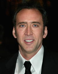 Nicolas Cage at the 55th Annual Writers Guild Awards in Beverly Hills, California.