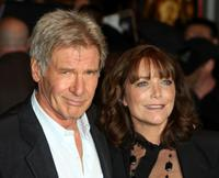 Harrison Ford and Karen Allen at the fan screening of