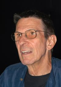 Leonard Nimoy at the booksigning of his first photography collection,