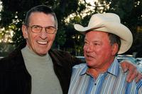 Leonard Nimoy and William Shatner at the 19th Annual Hollywood Charity Horse Show.
