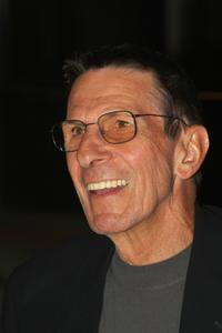 Leonard Nimoy at the photography exhibition of his first photography collection,