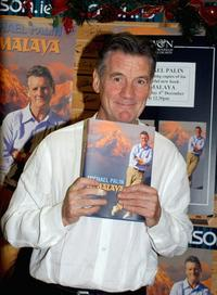 Michael Palin at the Book Signing In Dublin.