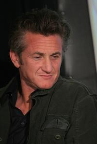 Sean Penn at the Hollywood Reporter / Billboard Film & TV Music Conference.