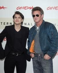 Sean Penn and Emile Hirsch at the 2nd Rome Film Festival for the photocall of