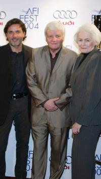 Director Christophe Barratier, Jacques Perrin and Jean Firstenberg at the premiere of