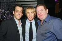 Todd Phillips, Owen Wilson and Chris Penn at the after party of the premiere of