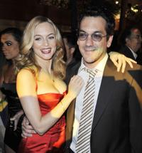 Heather Graham and Todd Phillips at the after party of the premiere of