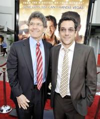Alan Horn and Todd Phillips at the premiere of