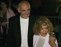 Sean Connery and his wife Michelineat the Edinburgh International Film Festival 60th party.