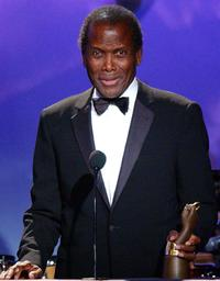Sidney Poitier at the Brass Ring Award.