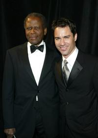 Sidney Portier and Eric McCormack at the 7th Annual Rick Weiss Humanitarian Award Gala.