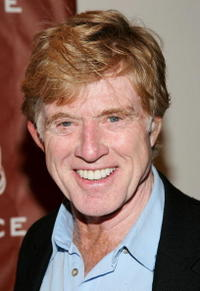 Robert Redford at the Sundance Institute 25th Anniversary celebration in New York City.
