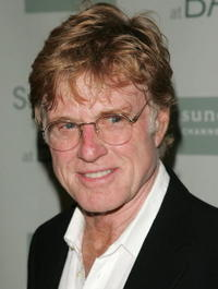 Robert Redford at the opening night party for Sundance Institute in Brooklyn, New York.