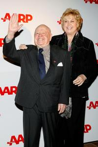 Mickey Rooney and Jan Rooney at the Sixth Annual Movies For Grownups Awards.