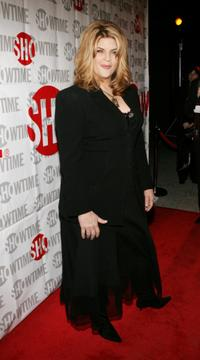 Kirstie Alley at the Showtime's TCA Press Tour party.