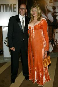 Kirstie Alley and Matt Blank at the Showtime Network post 56th Annual Primetime Emmy Party.