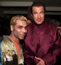 Tony Kanal and Steven Seagal at the after party of the My VH1 Music Awards.