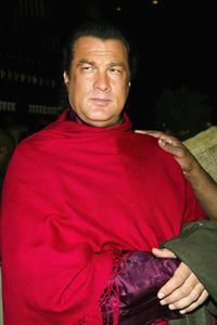 Steven Seagal at the launch party of Victoria's Secret limited edition