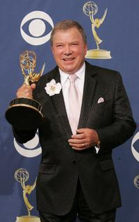 William Shatner at the 57th Annual Emmy Awards.