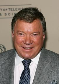 William Shatner at the Academy of Television Arts and Sciences Hall of Fame Induction Ceremony.