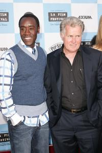Martin Sheen and Don Cheadle at the Los Angeles Film Festival opening night screening of the film