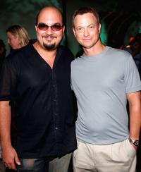 Gary Sinise and Anthony Zuiker at the