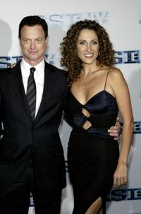 Gary Sinise and Melina Kanakaredes at the premiere screening of
