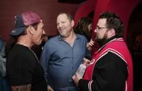 Kevin Smith, Danny Trejo and Harvey Weinstein at the afterparty for the premiere of