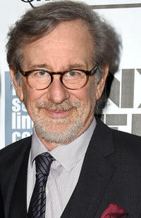 Director Steven Spielberg at the premiere of