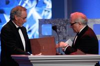 Steven Spielberg and Martin Scorsese at the 59th Annual DGA Awards.