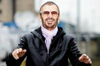 Ringo Starr at the open air concert on top of the building to launch the city's year as European Capital of Culture.