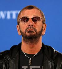 Ringo Starr at the press conference for the David Lynch Foundation