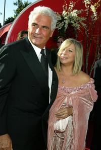 Barbra Streisand and James Brolin at the 56th Annual Primetime Emmy Awards.