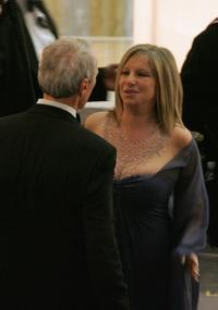 Barbra Streisand and Producer/Director Clint Eastwood at the 77th Annual Academy Awards.