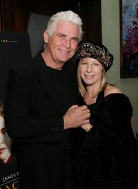 Barbra Streisand and James Brolin at the Showtime's Pre Golden Globe Party.