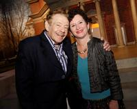 Jerry Stiller and Nancy Cantor at the Syracuse University's $1 Billion Capital Campaign Kick off.