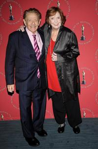 Jerry Stiller and Anne Meara at the Academy of Motion Picture Arts and Sciences official Oscar Celebration.