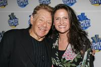 Jerry Stiller and Melanie Roy-Friedman at the screening of