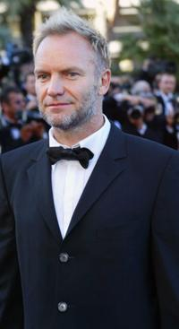 Sting at the screening of