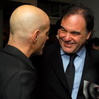 Oliver Stone and Brad Weston at the screening of