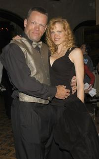 Brian Thompson and Sharon Brawen at the
