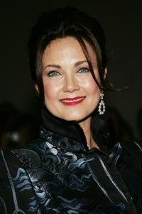 Lynda Carter at the 27th Annual Kennedy Center Honors Gala.