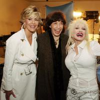 Lily Tomlin, Jane Fonda and Dolly Parton at the