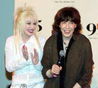 Lily Tomlin and Dolly Parton at the