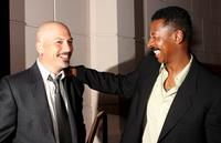 Robert Townsend and Howie Mandel at the L.A. Family Housing Gala Awards dinner.
